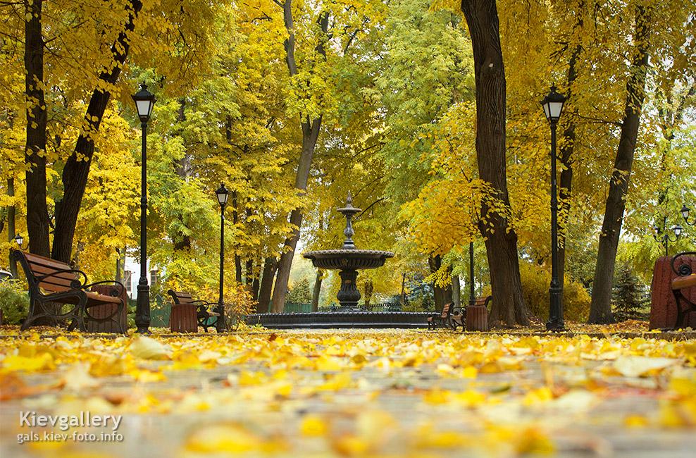 Осенний городской сад - Autumn City garden
