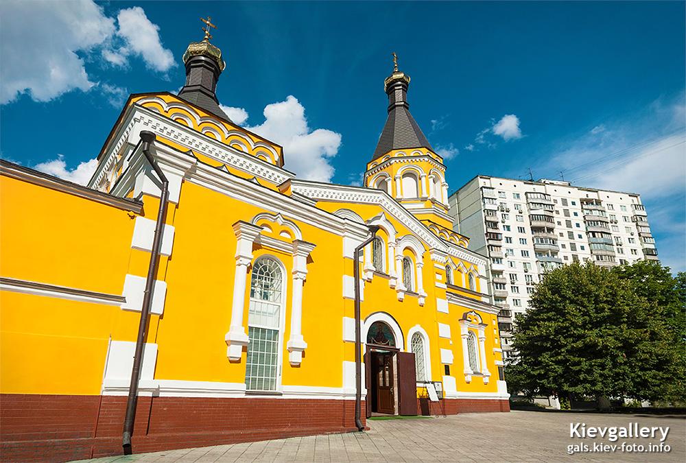 Покровская церковь на Соломенке. Holy Protection Church on Solomenka