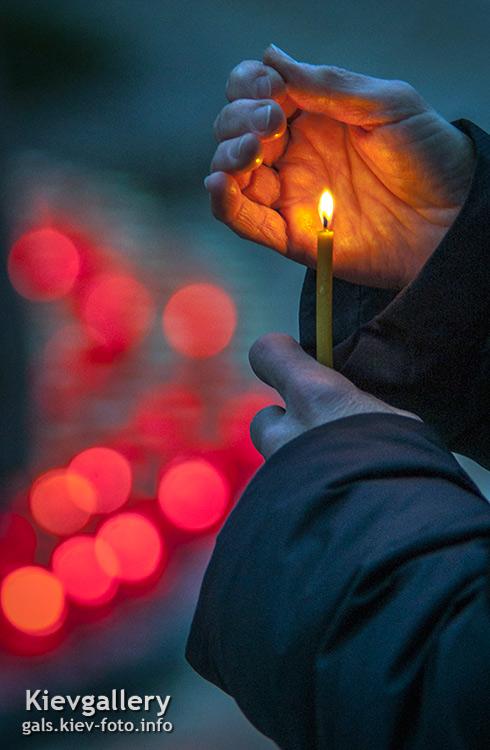 Свеча Голодомора. Holodomor candle.