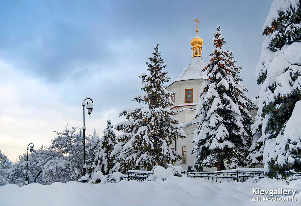 Зима в Лавре. Winter in Lavra