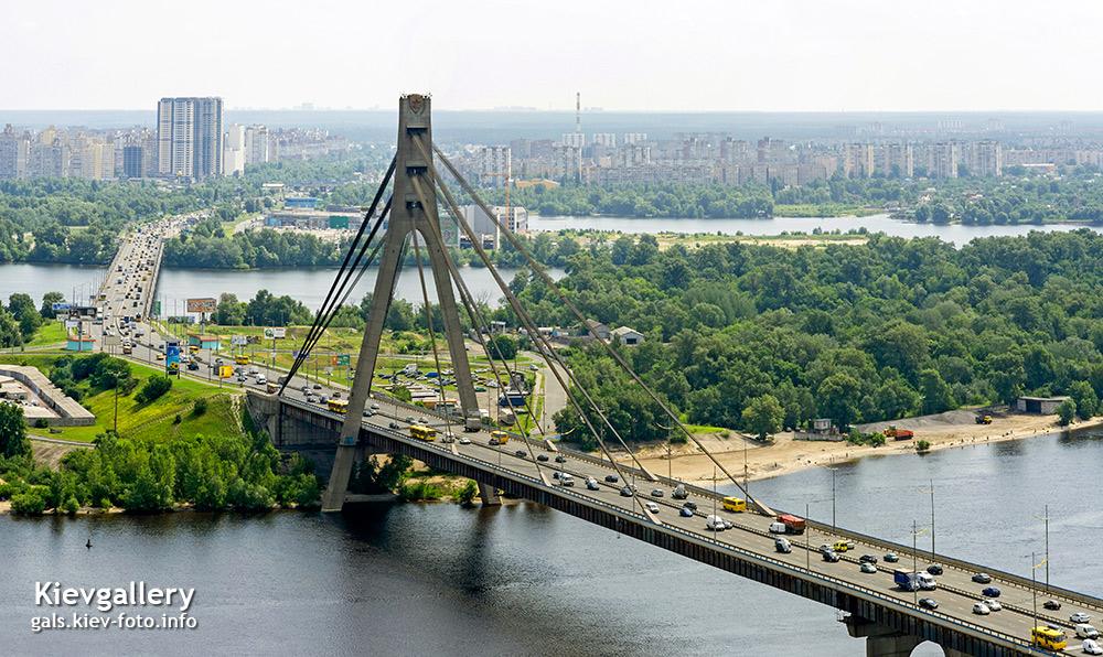 Московский мост в Киеве. Moskovskyi (Moscow) bridge in Kyiv