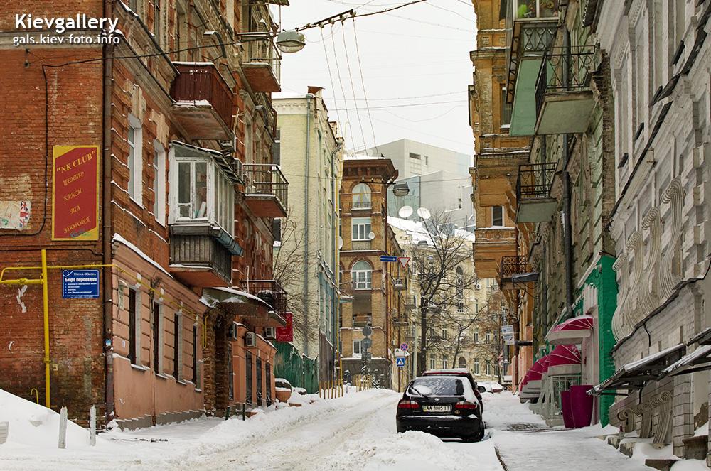 Михайловский переулок. Mykhailivs'kyi Lane