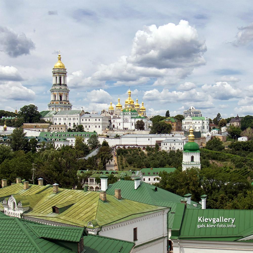 Фото Киево-Печерской Лавры. Общий вид