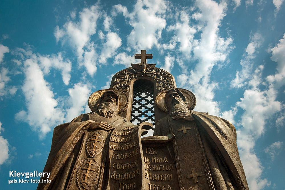 Фото Киево-Печерской Лавры. Преподобные Антоний и Феодосий