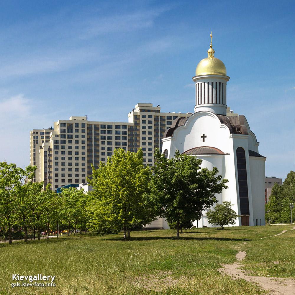 Преображенский собор на Теремках (фотографии). Обший вид