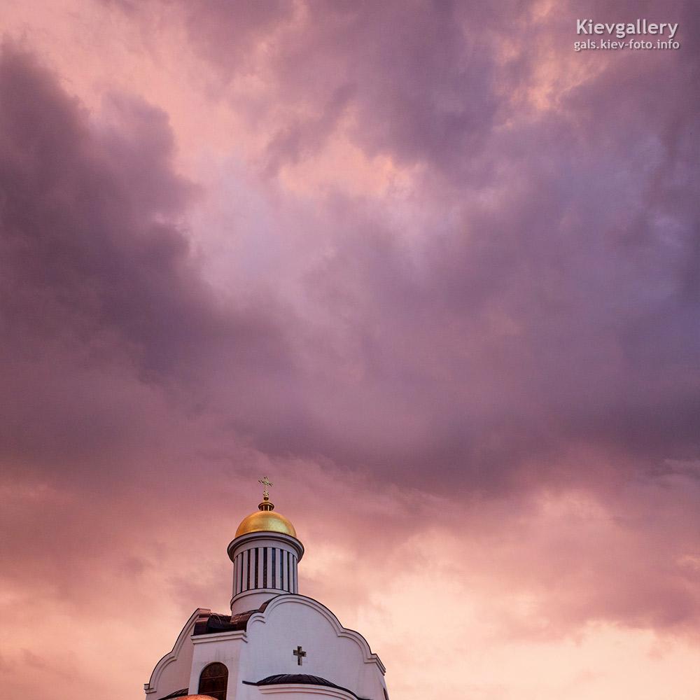 Преображенский собор на Теремках (фотографии). После ливня
