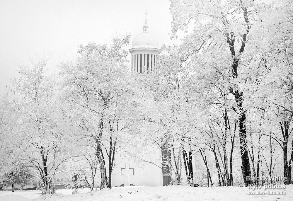 Преображенский собор на Теремках зимой