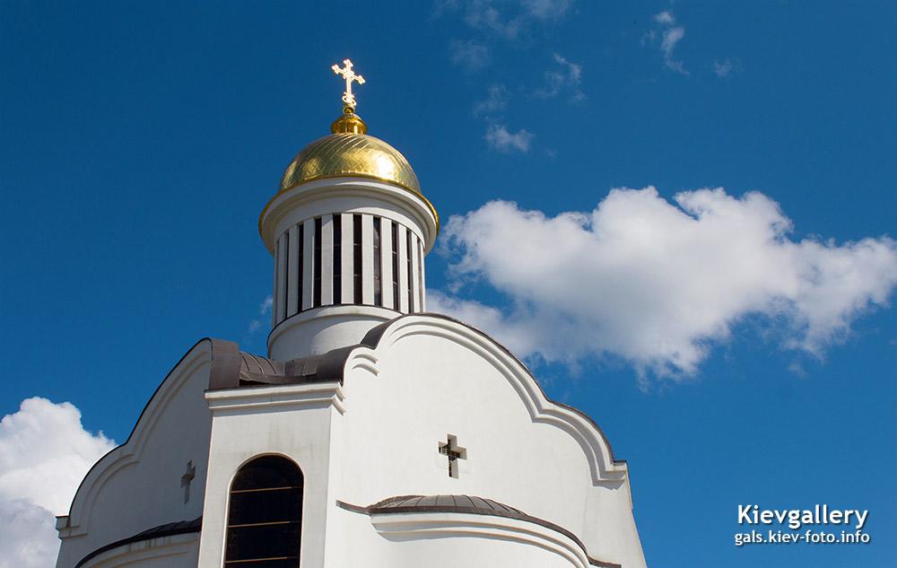 Преображенский собор на Теремках. Купол