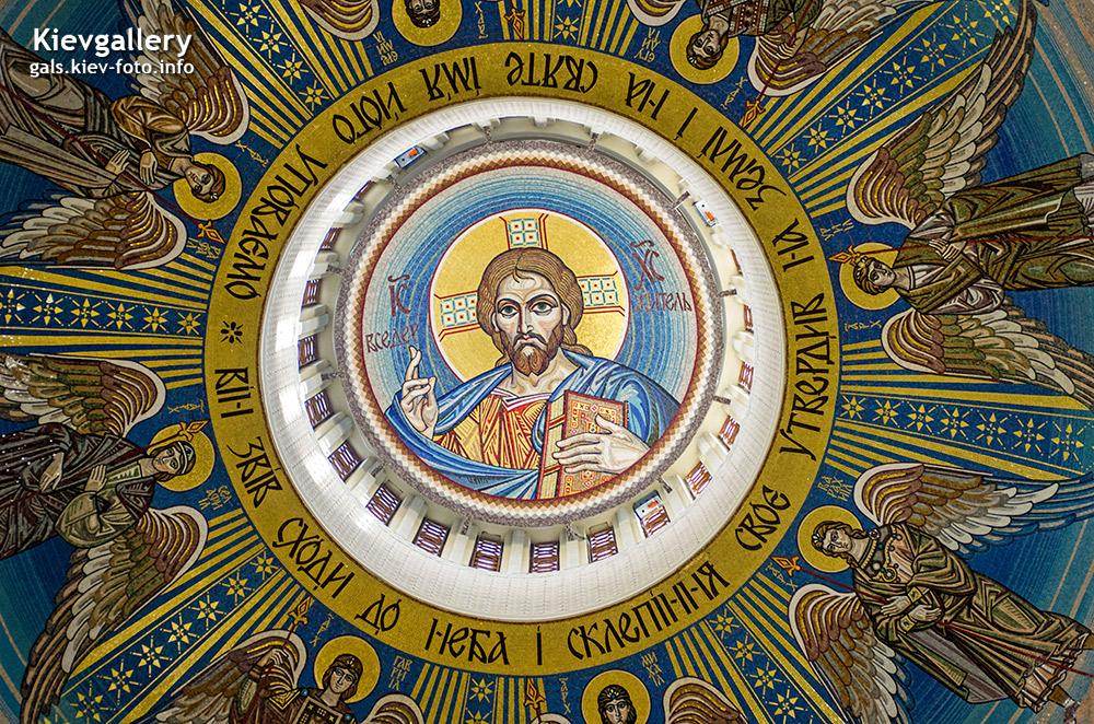 Преображенский собор на Теремках. Пантократор
