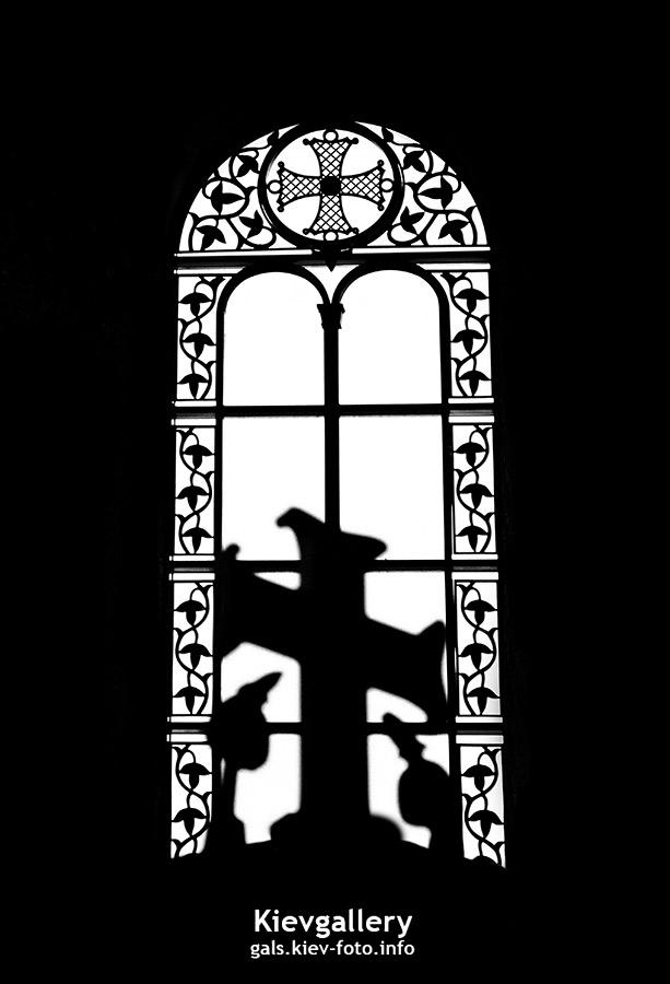 Преображенский собор на Теремках. Окно