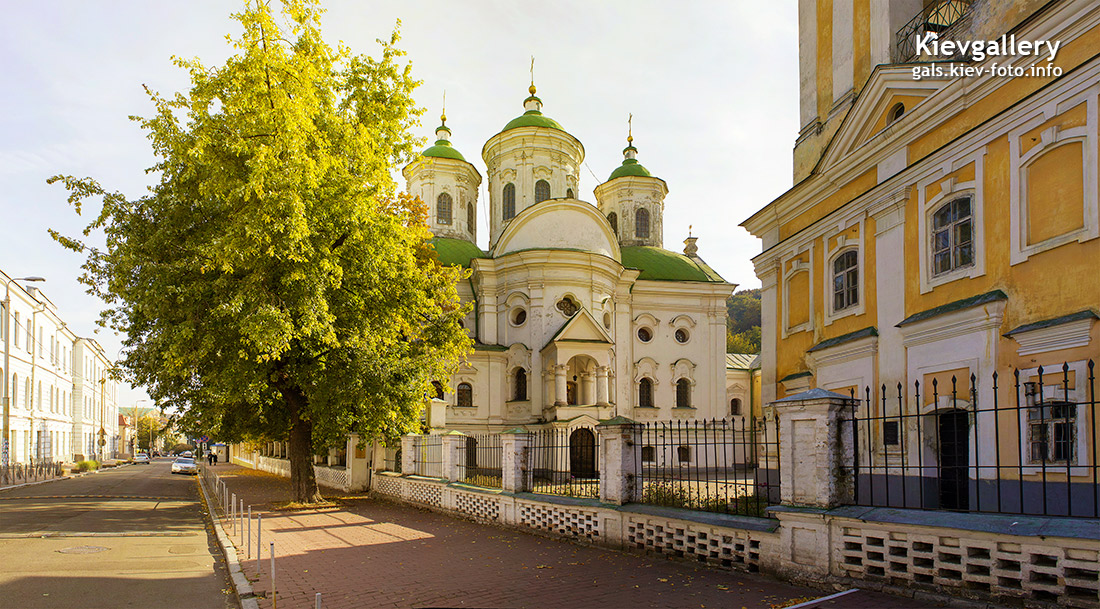 Покровская церковь на улице Покровская. Pokrovskaya Church on Pokrovskaya Street.