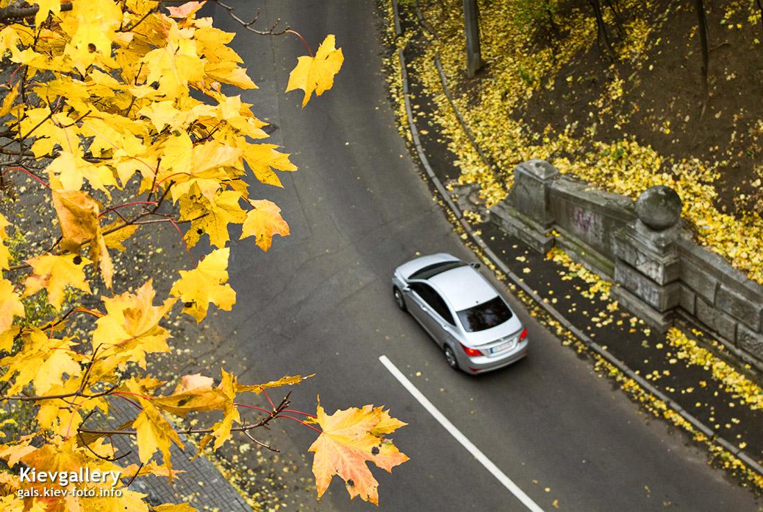 Осенняя прогулка центральными парками Киева