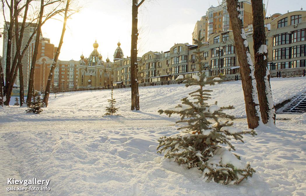 Зимний парк Наталка