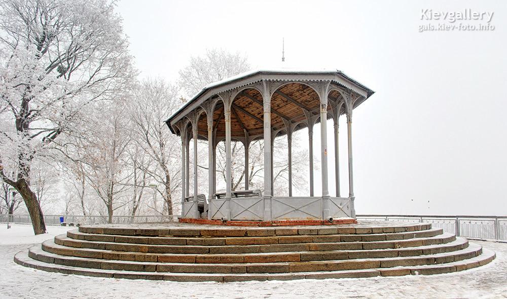 Зима. Парк Владимирская горка