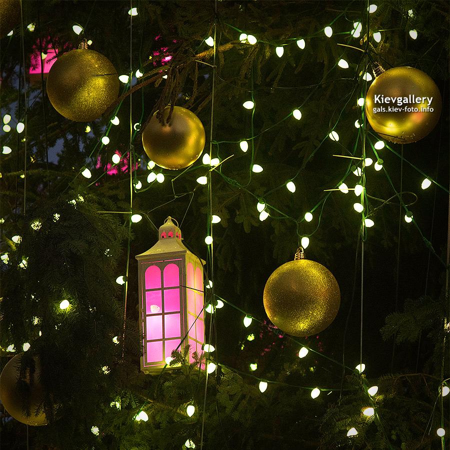 украшения новогодней елки