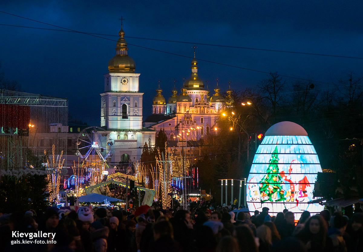 Зимний городок на Михайловской площади