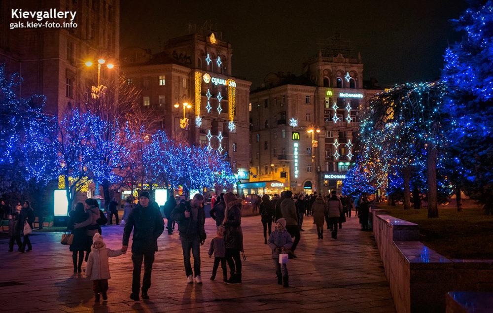 Новогодний Майдан 2018