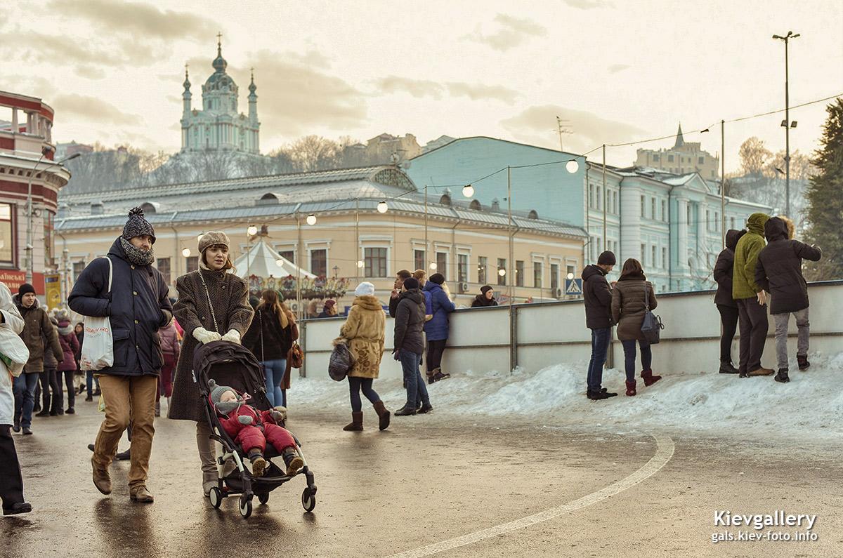 Прогулка по Контрактовой площади