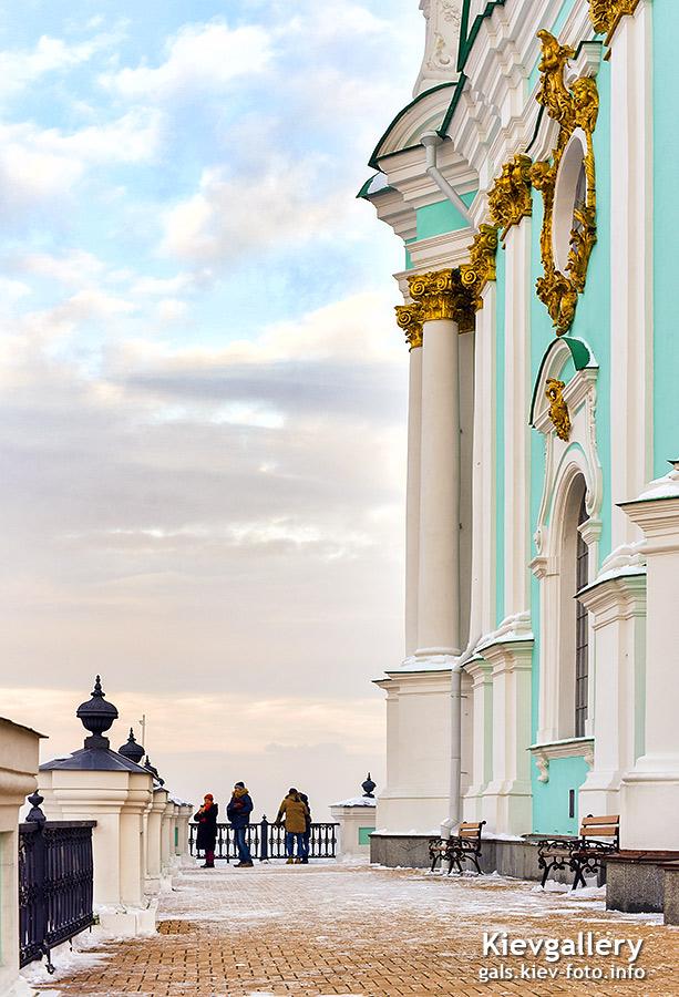 Смотровая площадка Андреевской церкви