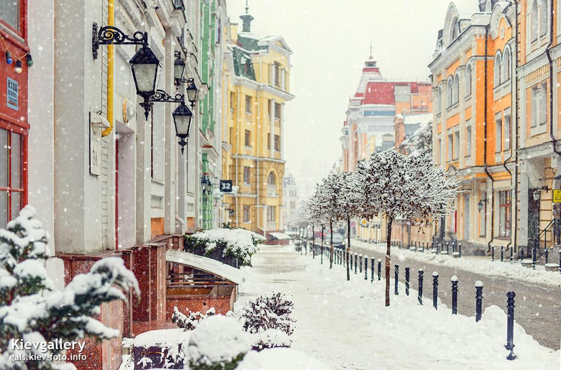 Зимняя Воздвиженка