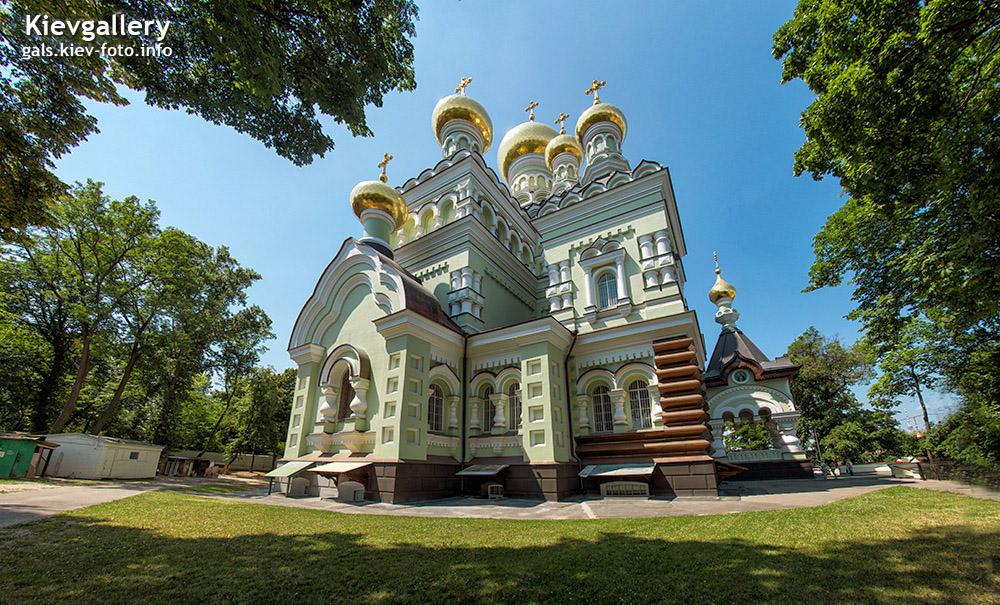 Николаевский собор Покровского женского монастыря. Соборы Киева (фото)