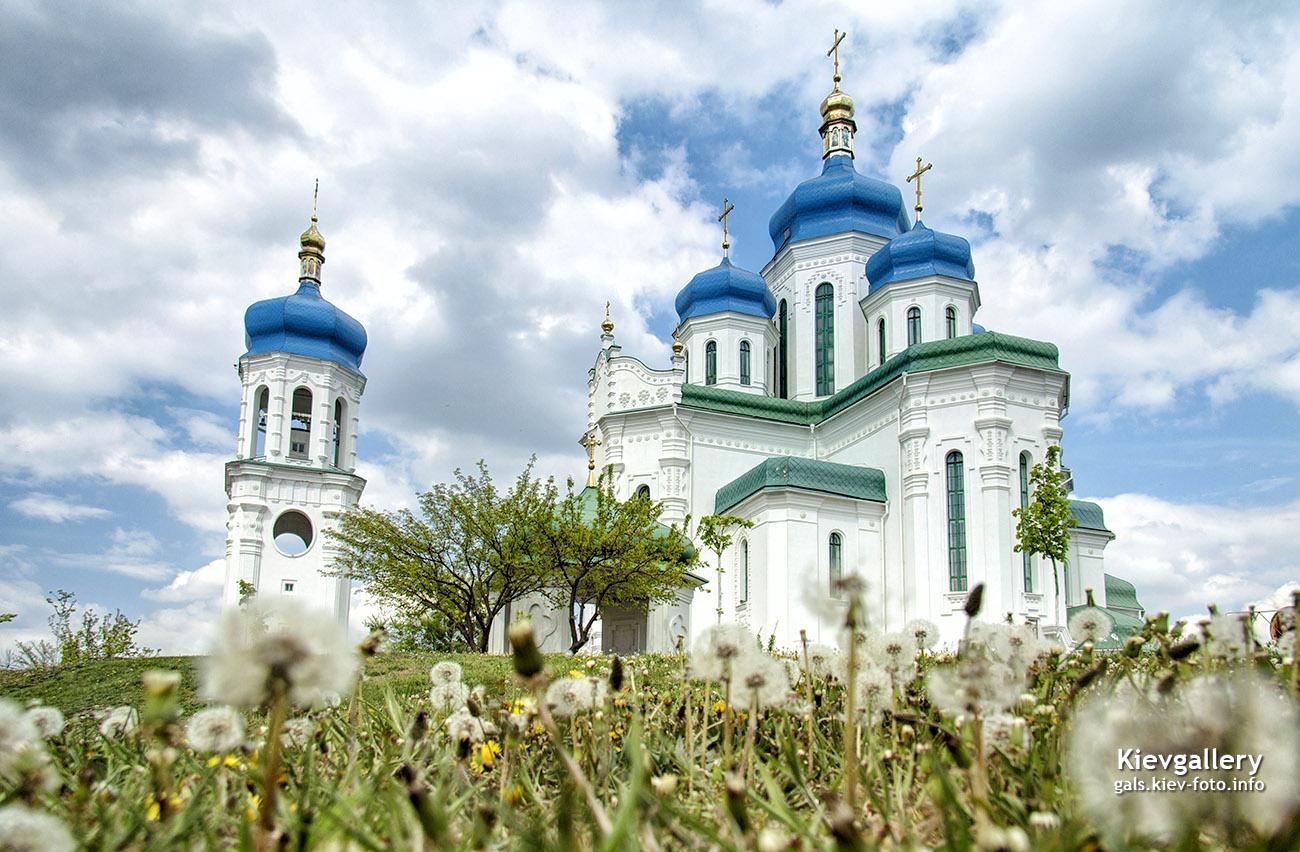 Троицкий собор на Троещине. Соборы Киева (фото)