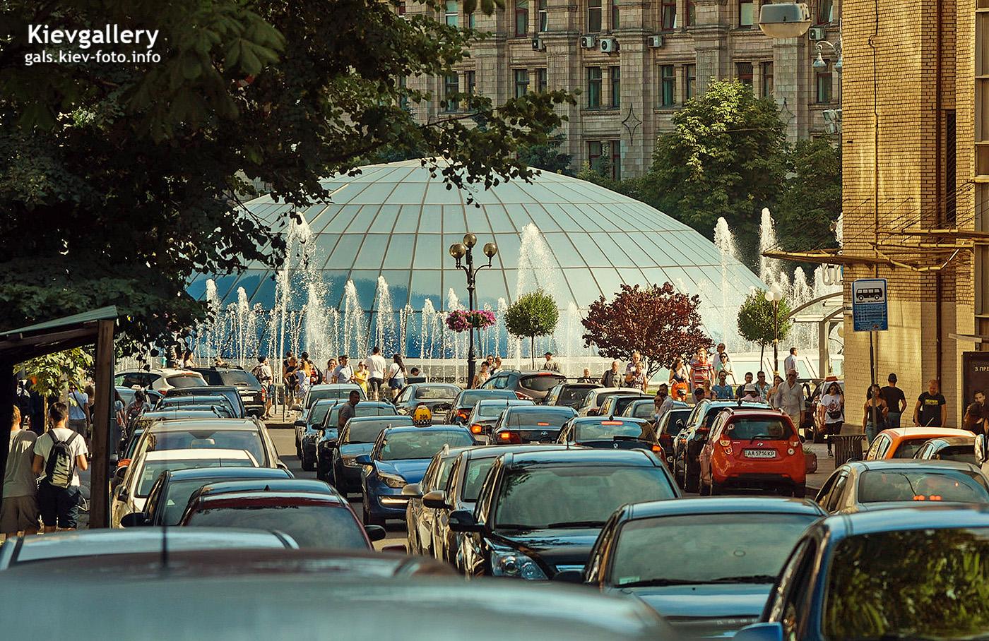 Спуск к Майдану