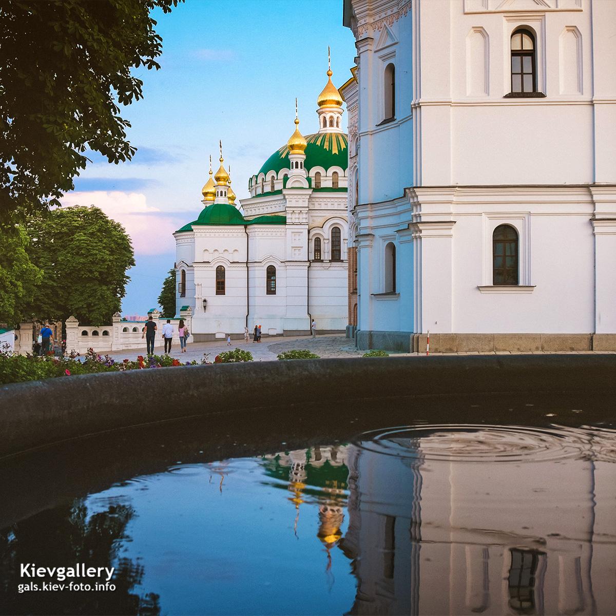 Прогулка по вечерней Киево-Печерской Лавре