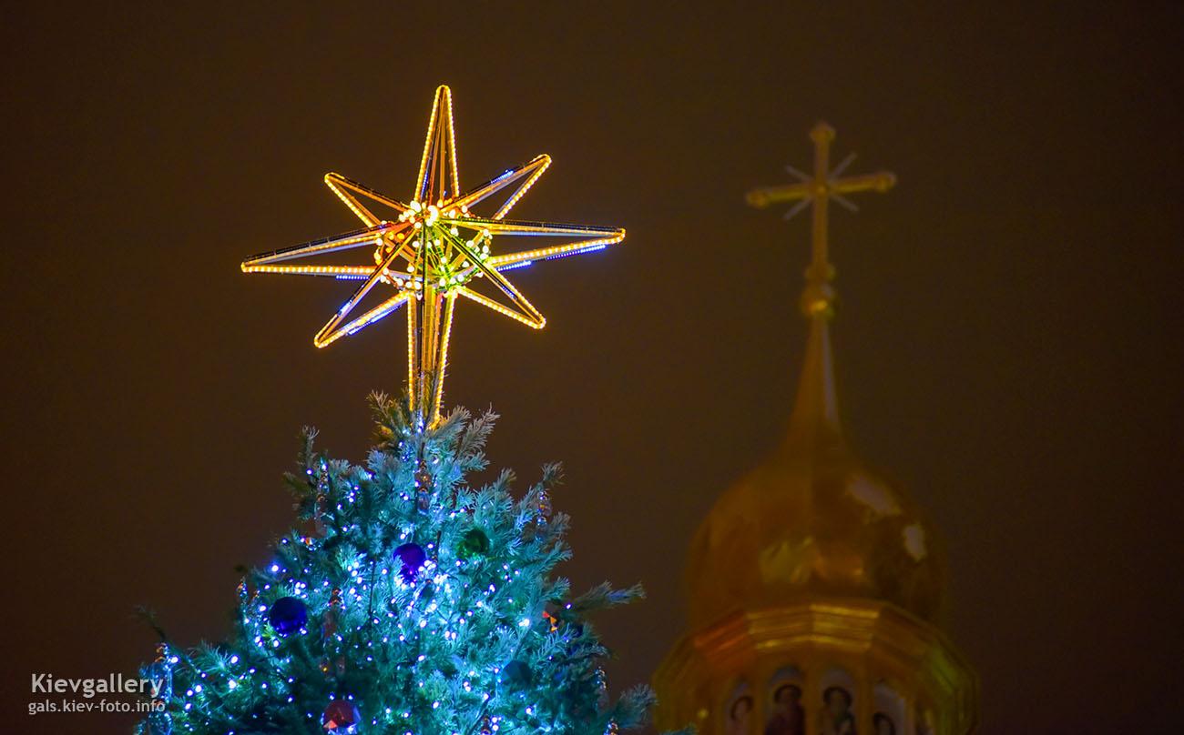 Главная ёлка Киева 2019 на Софийской площади