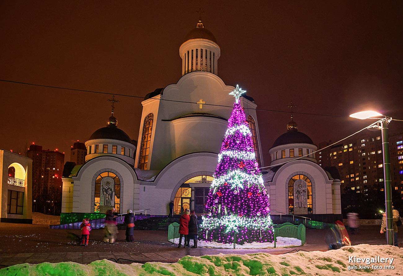 Новогодний Елизаветинский парк на Теремках-2