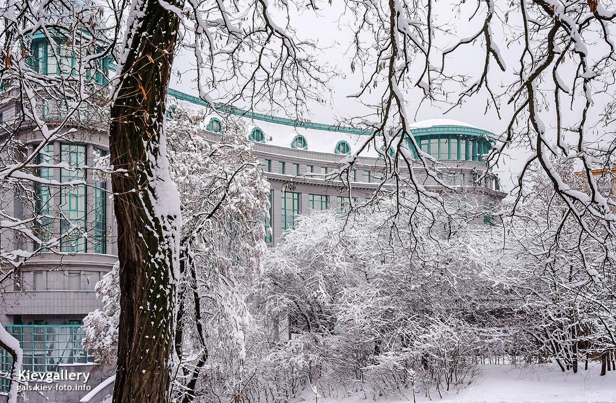 Зимняя улица Институтская